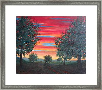 Coming Home Framed Print by Kenneth Stockton