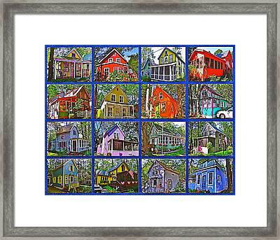 Coming Home Photo Assemblage In Asbury Grove In South Hamilton-massachusetts Framed Print by Ruth Hager