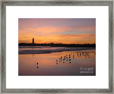 Coming Home Framed Print by Theresa Ramos-DuVon