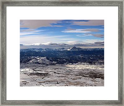 Coming Home To Colorado Springs Framed Print