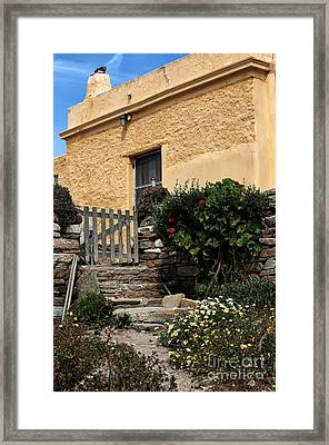 Coming Home To Delos Framed Print by John Rizzuto
