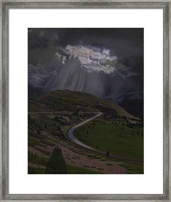 Coming Home To God Framed Print by Thu Nguyen