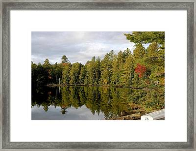 Coming Framed Print by Joseph Yarbrough
