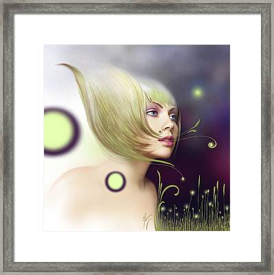 Coming Of Spring - Equinoxes Framed Print by Anna Ewa Miarczynska
