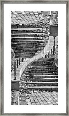 Coming Or Going Framed Print by Angelina Vick
