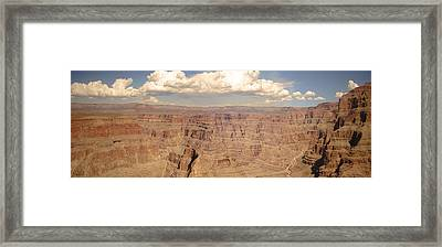 Coming Out Of The Canyon Framed Print by BandC  Photography