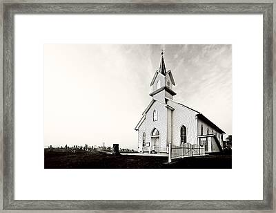 Coming Out Of The Mist Framed Print by Marcia Colelli