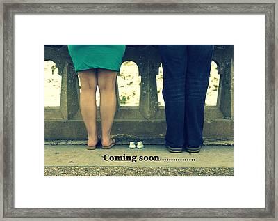 Coming Soon Framed Print