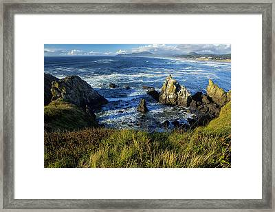 Framed Print featuring the photograph Coming Together by Belinda Greb