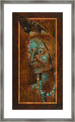 Coming Together II Framed Print