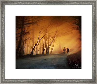 Coming Together Framed Print by Pedro L Gili