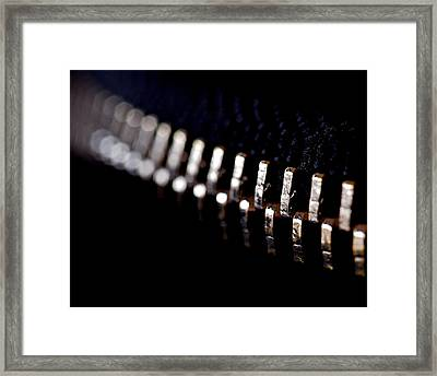Coming Together Framed Print by Rona Black