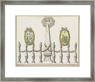 Coming Unity And Indivisibility Of The Batavian Framed Print