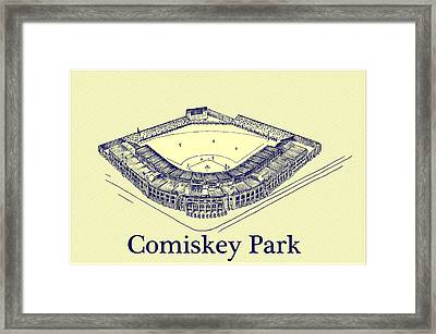 Comiskey Park 1910 Framed Print by Bill Cannon