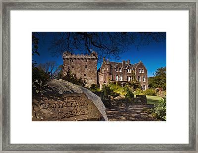 Comlongon Castle Framed Print
