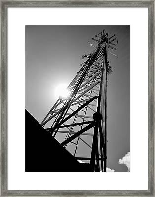 Comm Tower Framed Print by Amar Sheow