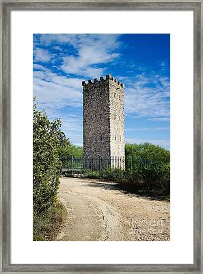 Commanche Park Tower Framed Print by Gary Richards