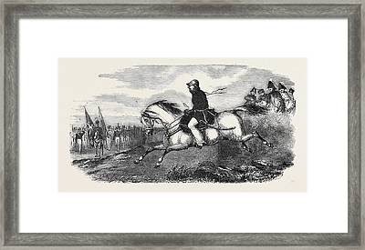 Commander-in-chief Sir Charles Napier Framed Print by English School