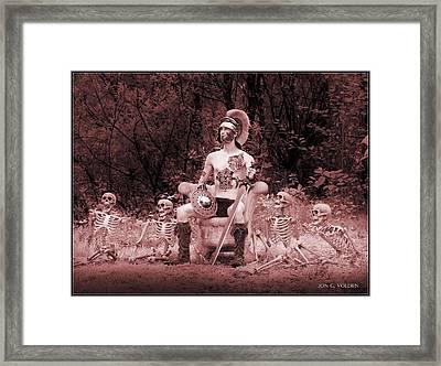 Commander On The Killing Fields Framed Print