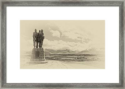 Commando Memorial 3 Framed Print