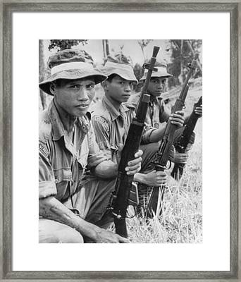 Commando Patrol Framed Print by Retro Images Archive