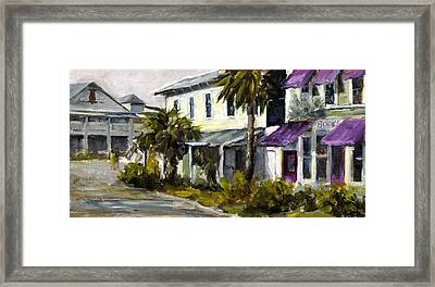 Commerce And Avenue D Framed Print by Susan Richardson