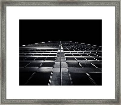 Framed Print featuring the photograph Commerce Court West 1 by Brian Carson