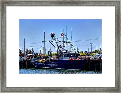 Commercial Fishing - Sea Pearl Framed Print by Heidi Smith