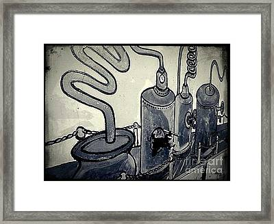 Commercial Wall Framed Print by Fei A