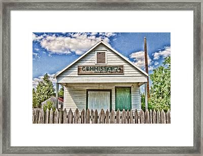 Commissary Framed Print by Scott Pellegrin
