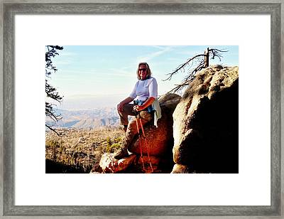 Framed Print featuring the photograph Commission Free - Crickets by Benjamin Yeager