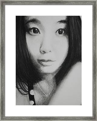 Commissioned Portrait Framed Print by Lynn Hughes
