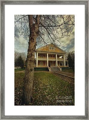 Commissioner's Residence Framed Print by Priska Wettstein