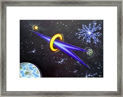 Framed Print featuring the painting Commitment by Kenneth Clarke