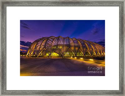 Committed To Learning Framed Print by Marvin Spates