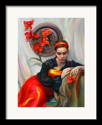 Portraitist Framed Prints