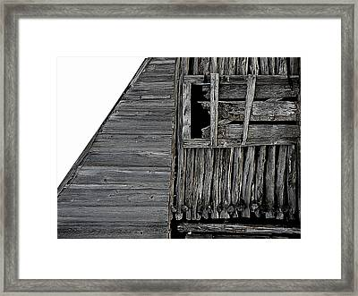 Commons Ford Barn Framed Print
