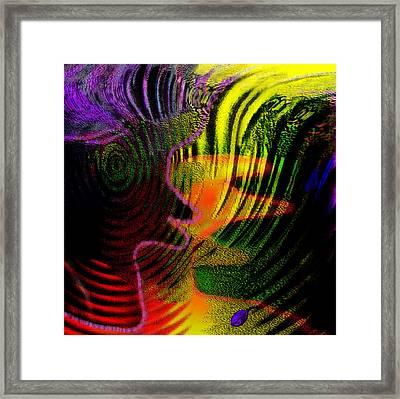 Communicate Framed Print by Mathilde Vhargon