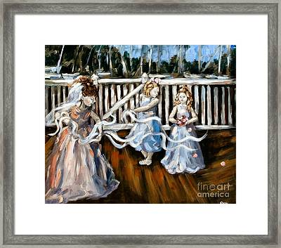 Communion Framed Print by Carrie Joy Byrnes