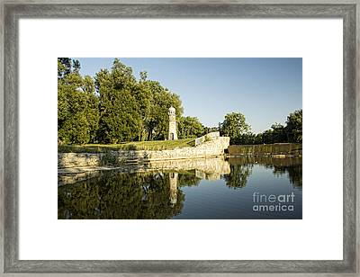 Como Lake Park Framed Print