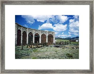 Como Roundhouse Co Framed Print by Jan W Faul
