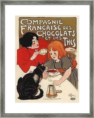 Compangnie Francaise Des Chocolats Et Des Thes Framed Print by Gianfranco Weiss