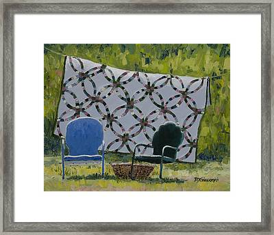 Companions Framed Print by Mary Giacomini