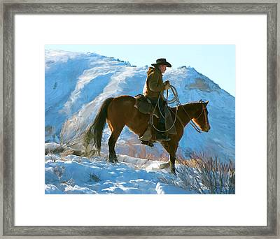Companions Framed Print by Paul Tagliamonte