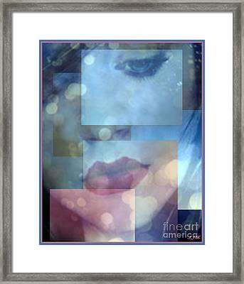 Compartmentalised Framed Print by Irma BACKELANT GALLERIES