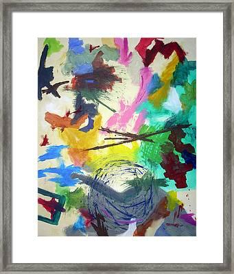 Compass Framed Print by Urbano Espinosa