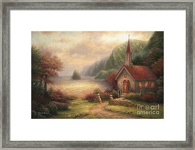 Compassion Chapel Framed Print