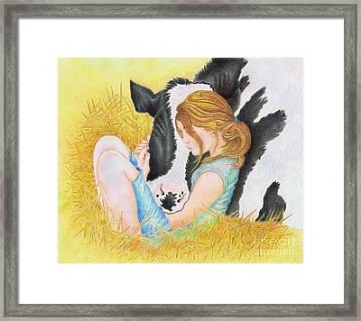 Compassion  Framed Print by Jodi Bauter