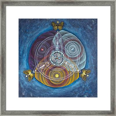 Compassionate Peace Framed Print by Janelle Schneider