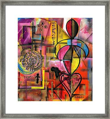 Compassionate Woman X2 Framed Print